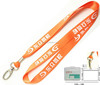 Promotional Work Badge ID Card Holder Keychain Lanyard