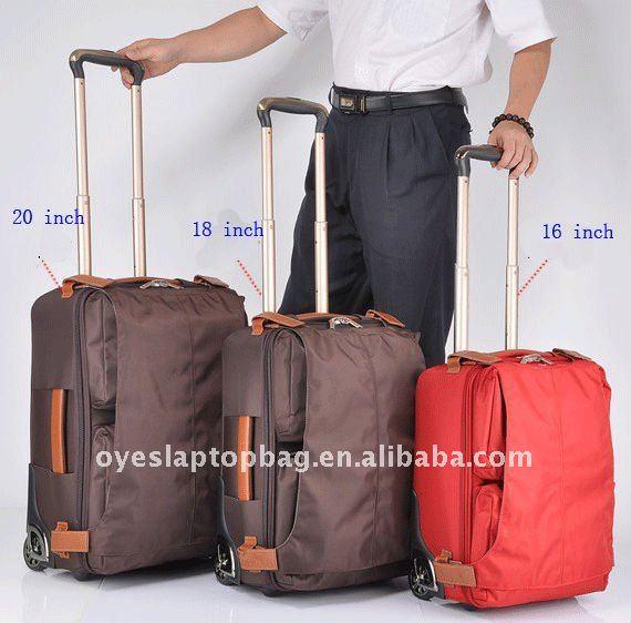 1680d Nylon Vintage Eminent Travel Luggage Big Wheels - Buy Travel ...