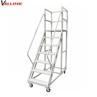 Warehouse Steel Safety Rolling Mobile Platform
