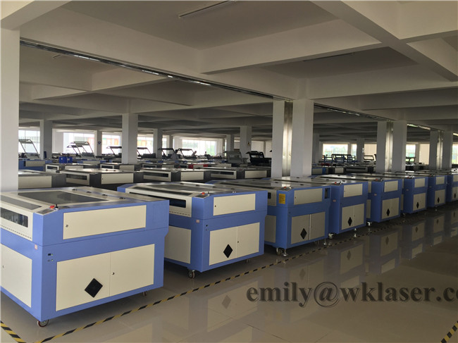 Jinan gweike 80W 100W 130W 150W cnc co2 laser 6090 wood acrylic MDF acrylic fabric plywood laser cutting machines price