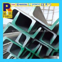 hot rolled channel steel bar 100x50x5.0 mm stainless steel unistrut channel c type channel steel