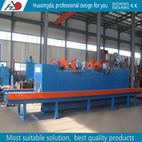 steel plate and steel structure shot blasting cleaning machine