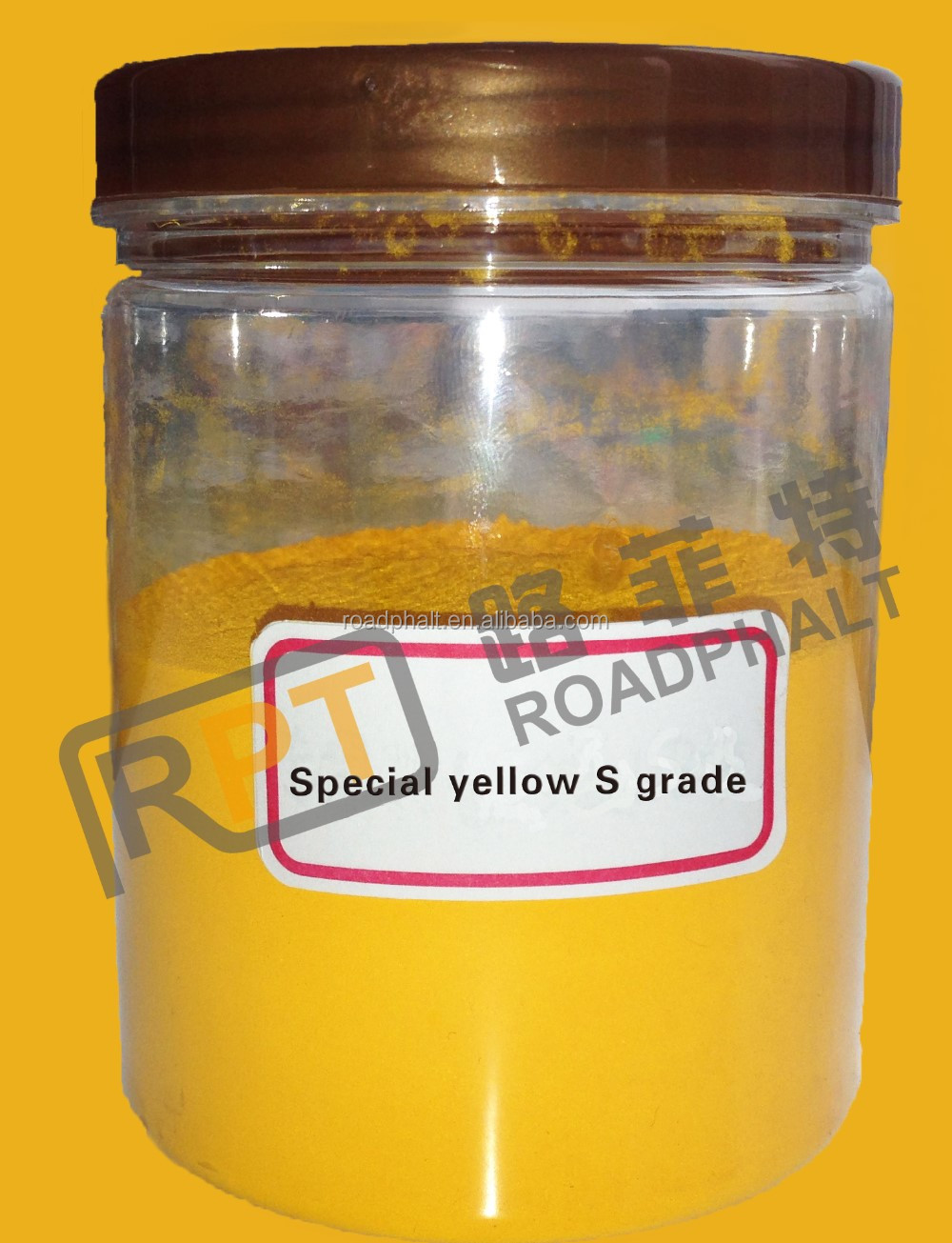 Full Color Range Best Quality Iron Oxide yellow Pigment For bitumen pavement