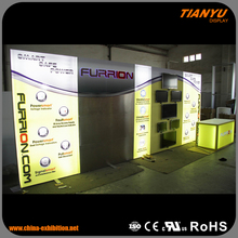 beautiful exposure system exhibition display booth panel
