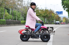 2017 New Design pocket cheap kids 50cc quad atv 4 wheeler