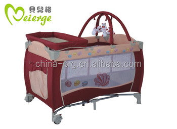 Baby Playpen Crib Cot Bed