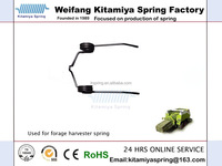 The tractor with torsion spring