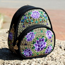 Hmong Bag Shoulder Bag Yam Bag 100% Cotton Fabric Hand Woven