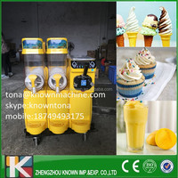 Popular sale yogurt ice cream maker /fresh fruit slush machine on sale