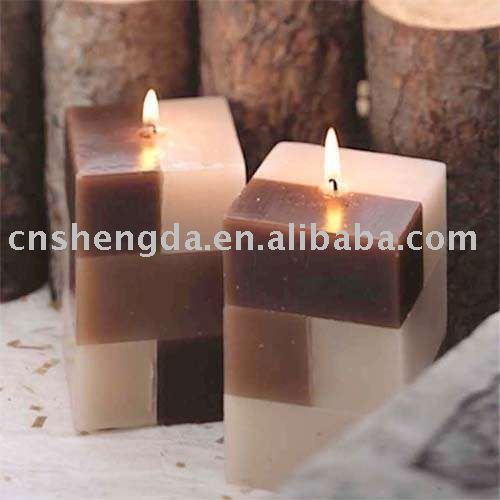 magic cube scented craft decorative candle, candles