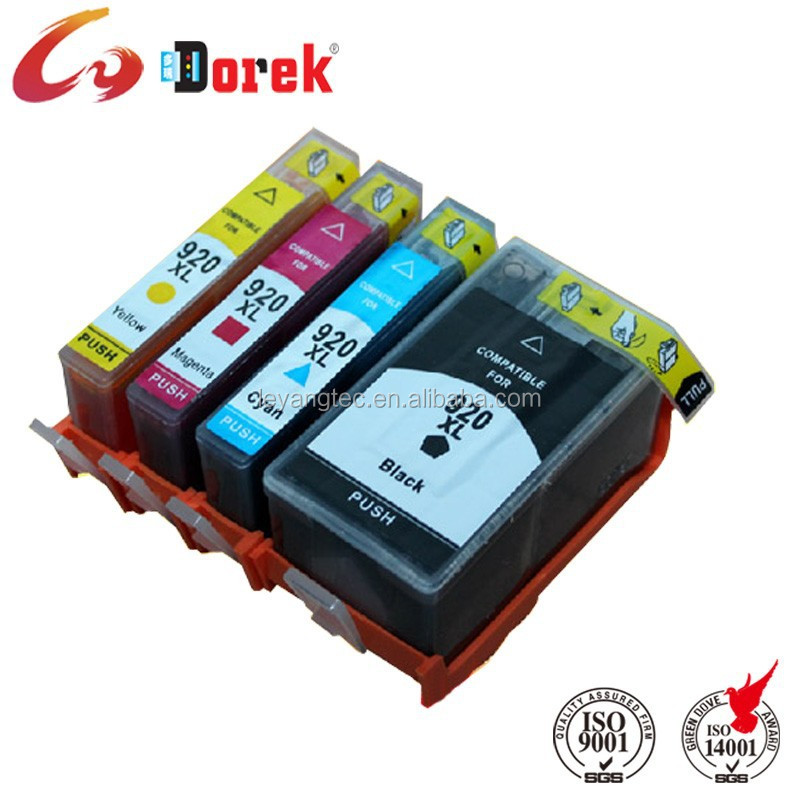 Black 920XL Inkjet Cartridge for HP 920 Ink Cartridge Compatible for Printers Officejet 6000 6500 7000 7500