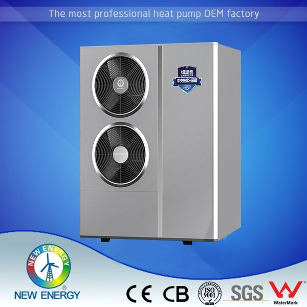 r410a refrigerant compressor -25c use air to water dc inverter heat pump 8kw