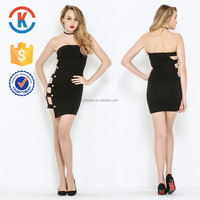 High quality wholesale high low evening bandage dress sewing patterns