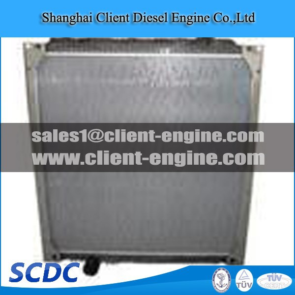High quality Sinotruk diesel engine Aluminum radiator P/NO WG9719530231 WG9719530011