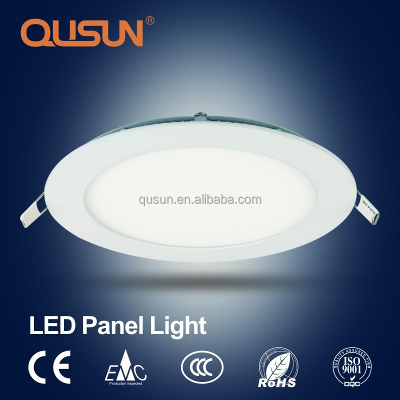 18W Round LED Flat Panel Ceiling Light, LED Panel Lights No Flicker