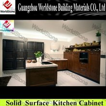 Newest commercial wooden kitchen cabinet WS-KC211