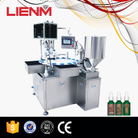 Shampoo Production Line 2 Heads Automatic Liquid Gel Filling And Capping Machine