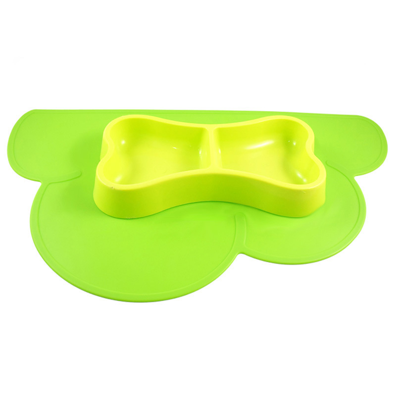 Safe silicone pet dog food traininig mat for cat and animals