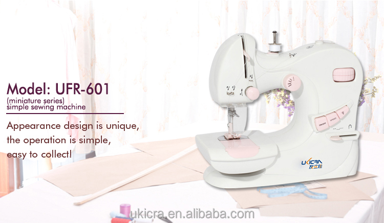 UFR-601 chinese double needle domestic sewing machine
