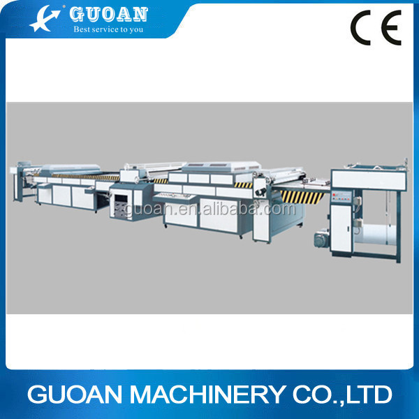 Energy saving and high quality ZDSG-1200 automatic uv varnish coating machine for packaging (dual-set)