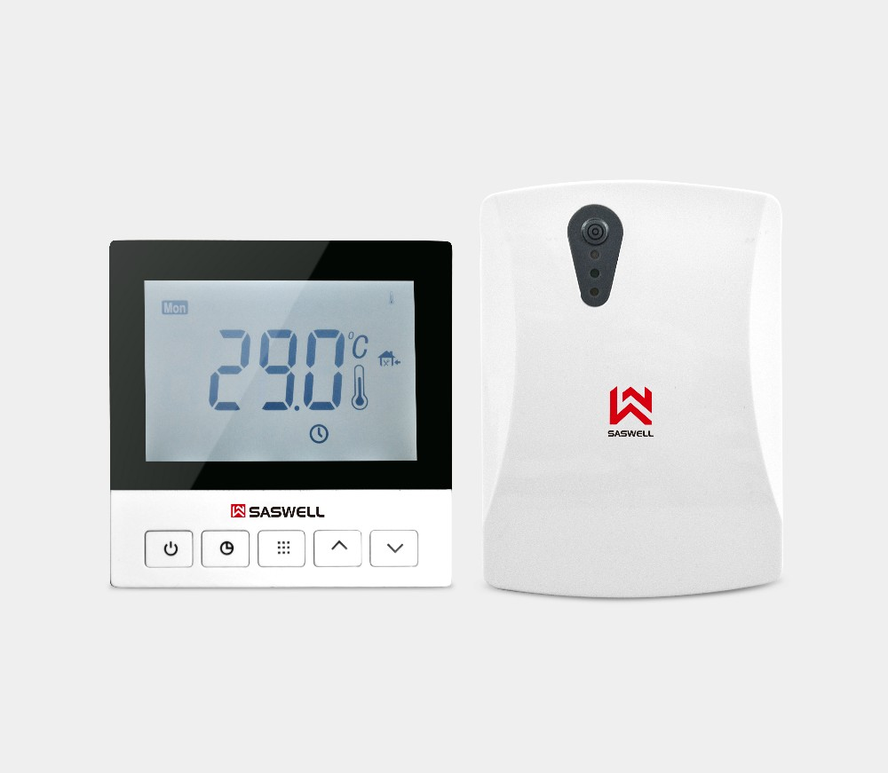 digital programmable wireless heaitng room thermostat
