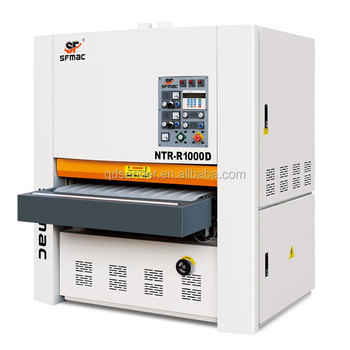 NTR-R1000D Furniture lacquered plywood industrial sanding machine