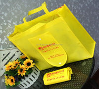Newest stylish foldable non woven library bag