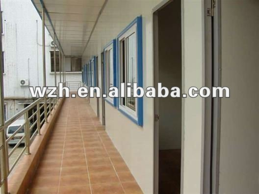 Prefabricated house/home/dormitory/office/classroom/relief/shed for sale