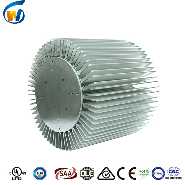 custom led high bay light heat sink aluminum profile