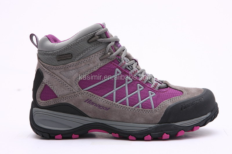 Factory wholesale price waterproof high quality women outdoor shoes/hiking shoes for women/outdoor footwear shoes