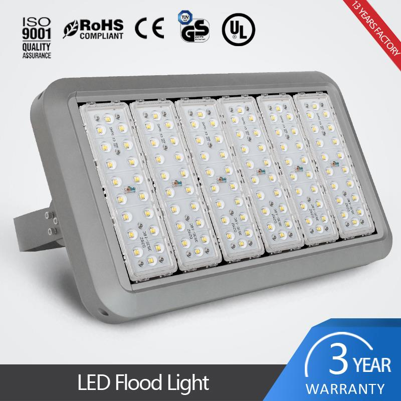 IP67 modular outdoor 300w flood lighting for football stadiums and parks and tunnels 100w to 300w provided