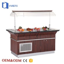 Commercial equipment luxurious refrigerated salad bar equipment