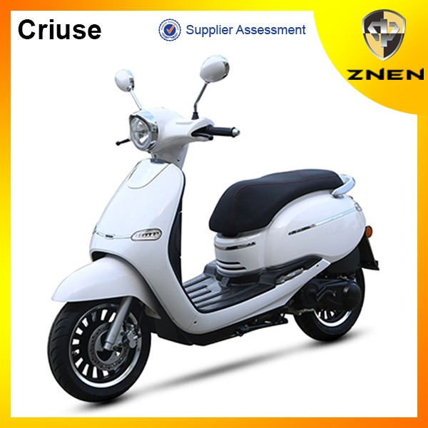 ZNEN MOTOR --EURO 4 VESPA RETRO F10 scooter 50cc 125cc 150cc 12' tire gas scooter best sell in South America