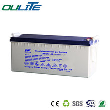 free maintenance 12v battery 250ah sealed lead-acid battery for electric system