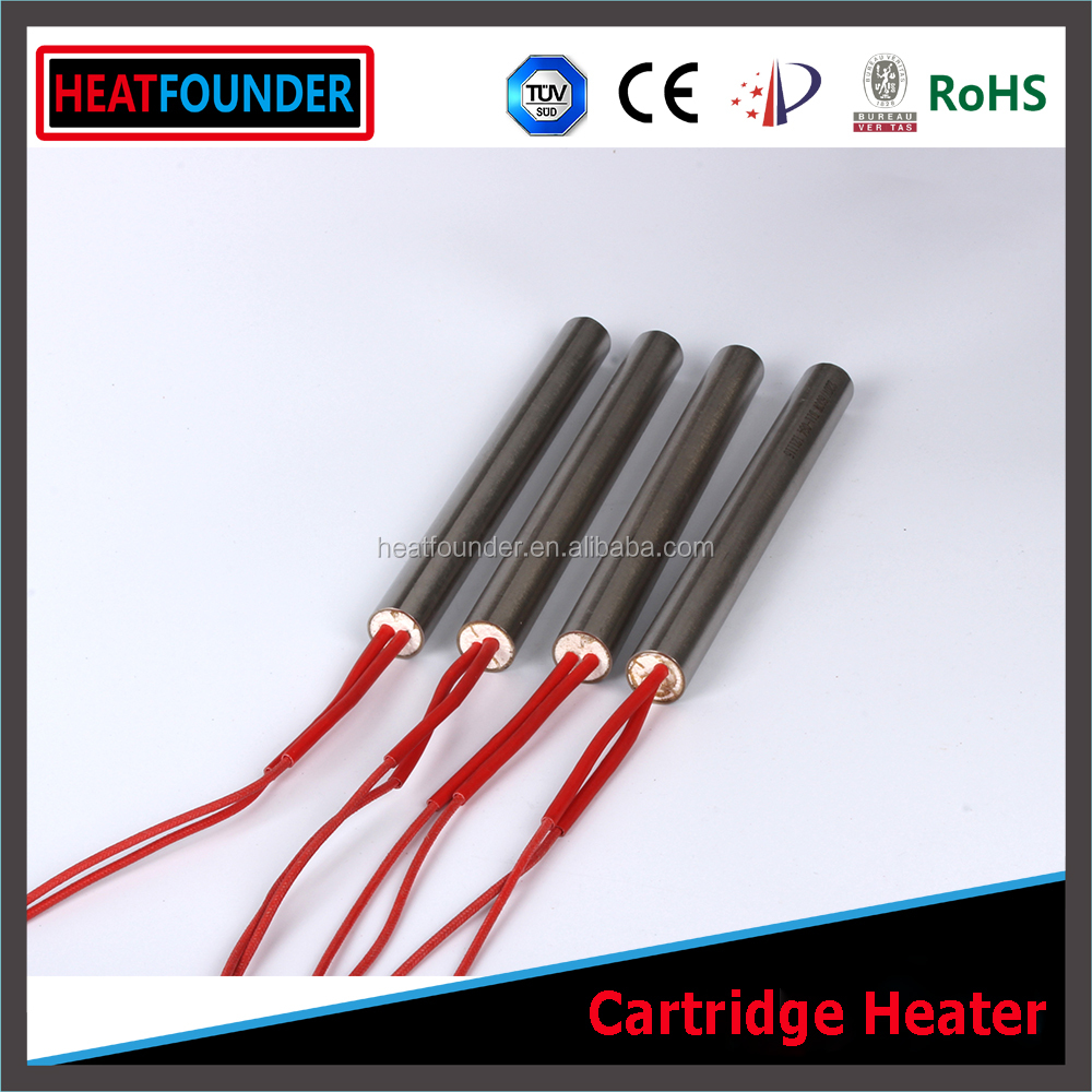HEATFOUNDER Customized 24 volt Heater of Cartridge Type