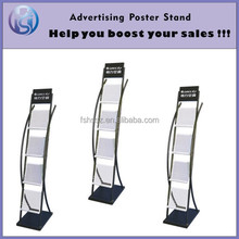 Magazine,Brochure Display Rack, Display Holder,Literature Stand HS-ZL09