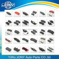 Car Auto brake system wholesale brake pad for Toyota brake pads