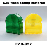 EZB rubber sole raw material flash stamp font