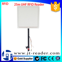 915Mhz Rs232/Wiegand Interface High Power Standalone Long Range Passive Rfid Uhf Smart Card Reader Writer Price For Car Parking