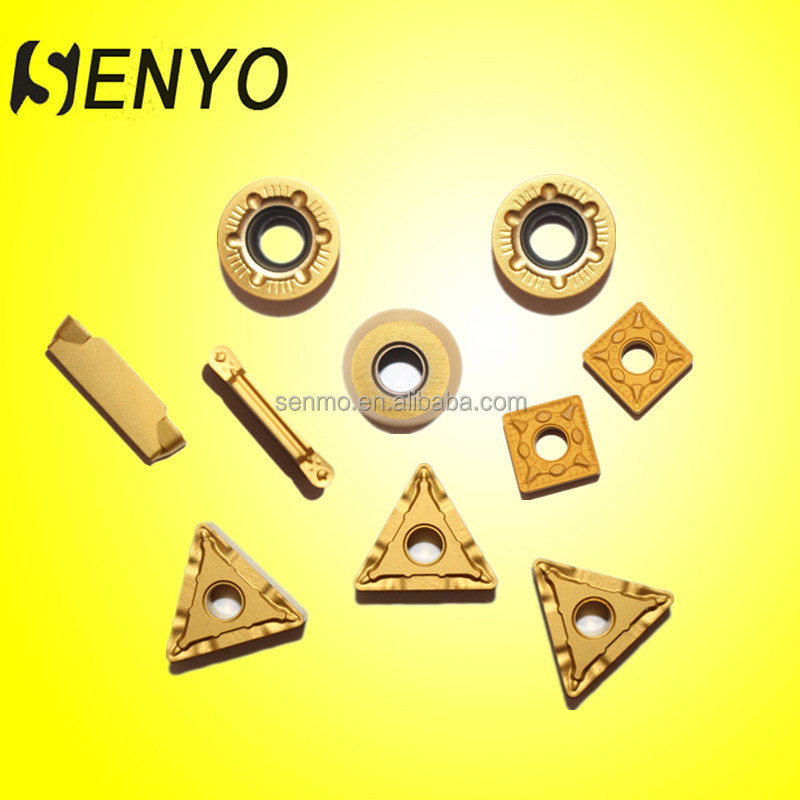 Solid carbide thread inserts milling cutter metal insert for wood