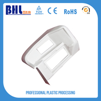 Customized white thermoform pmma abs plastic sheets parts