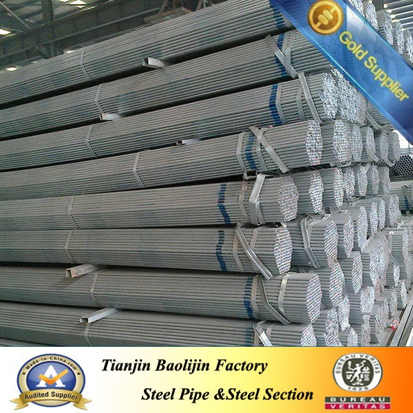 Precision structural astm a369 hot dip galvanized fence pipe