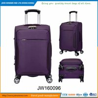 Shiny Polyester Luggage Sets