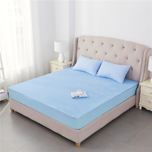 Hospital Rubber Warm Bamboo Terry Cloth Bed Sheets Wholesale