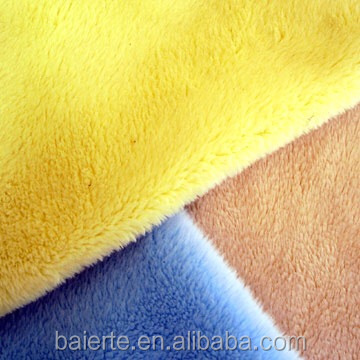 Embossed warp knitting Velboa fabric41