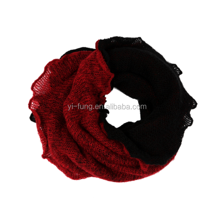 Factory Price direct sale neck scarf knitting pattern