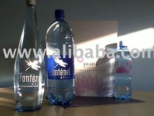 Prana and Fontenel bottled water