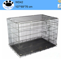 China 42 inch outdoor 5ft dog kennel cage