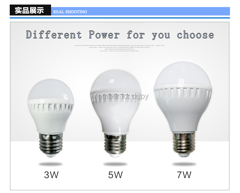 LED Bulb 7w E27 2835 SMD LED High Lumen LED Bulb 7W Plastic E27 LED Light Bulb LED Bulb Cold Warm White LED Bulb 7W E27 LED Bulb