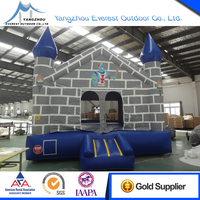 2016 New Design 15'x15'x15' inflatable bounce castle house